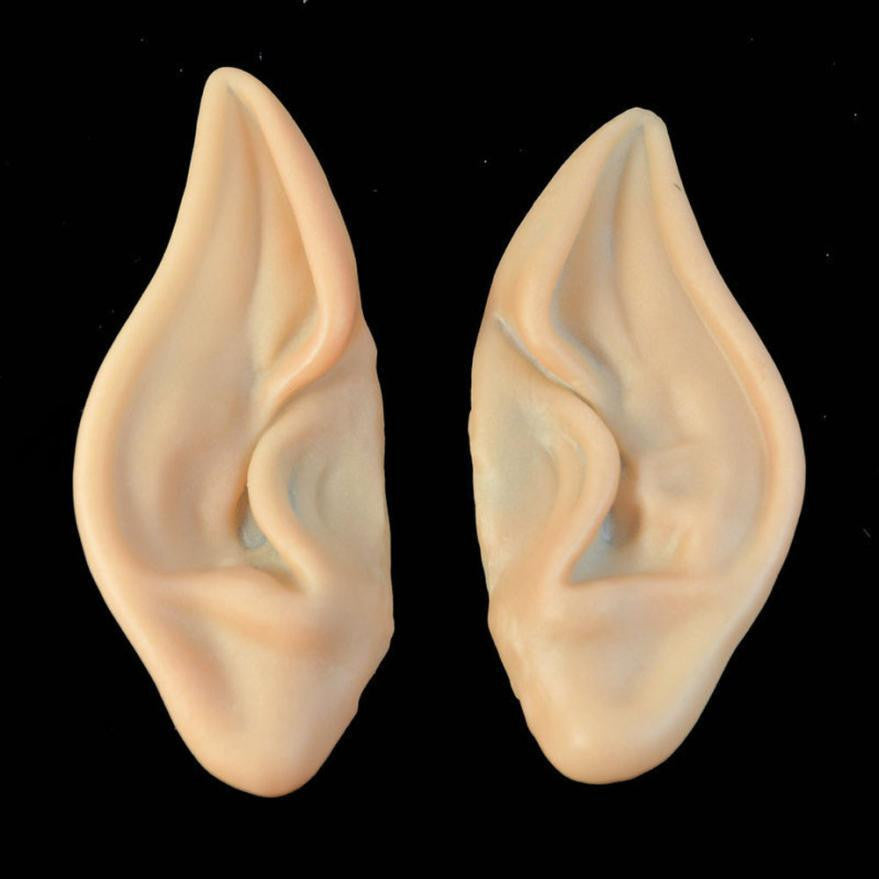 JECKSION Embouts 2016 1Pair Halloween Pointed Fairy Elf Cosplay Costume Ear Tips  Shipping #LSN