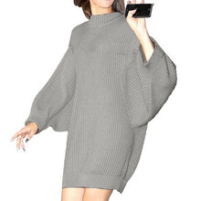 Turtleneck knitted sweater women fashion Long Sleeve Casual Warm Knitting Pullover oversized sweater
