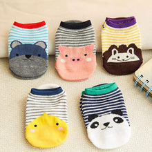 Fashion Cartoon design Baby Kid Socks Antiskid Toddler Cotton Low Socks baby girls boys socks