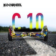 Koowheel 10 inch 2 Wheels Smart Electric Hoverboards 4400mAh Samsuang Battery Self Balance Scooter
