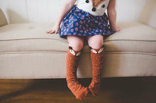 Cotton Baby Leg Warmers 1 Pair Unisex Baby Girl & Boy Knee High Fox Socks
