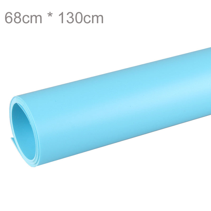 Blue Studio PVC Material Backgrounds Backdrop Anti-wrinkle 68 x 130cm for Photo Photography Background Equipment