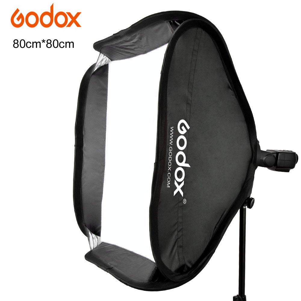 Godox 80x80cm Softbox Bag Kit for Camera Studio Flash fit Bowens Elinchrom Mount Strobe Beauty dish Honeycomb
