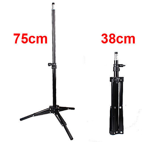Mini 38cm Studio Lighting Photo Light Lamp Tripod Stand Bracket For Flash Strobe Light #301