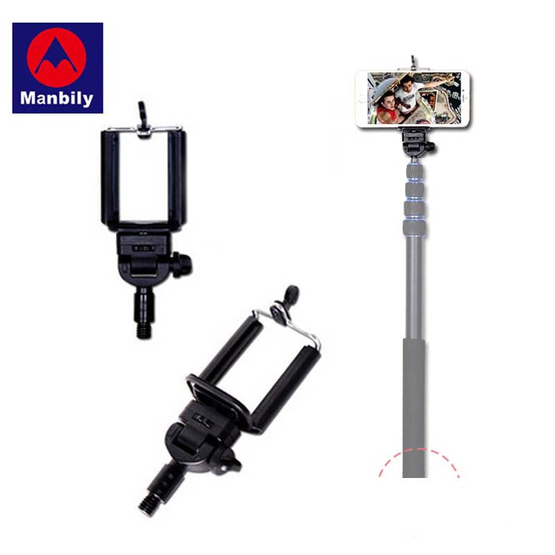 Manbily Monopod Selfie Sticks Holder Smartphone Bracket Suit for 3/8