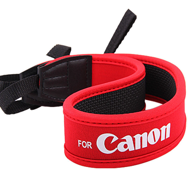 Dslr Camera Shoulder Neck Strap Fit for All Canon EOS 7D 5D Mark II 60D 50D 40D G12 D1B Red