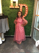 Audrey Polka Dot Dress