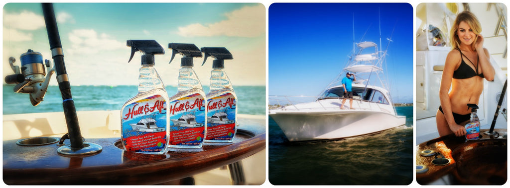 hull and aft boat cleaner