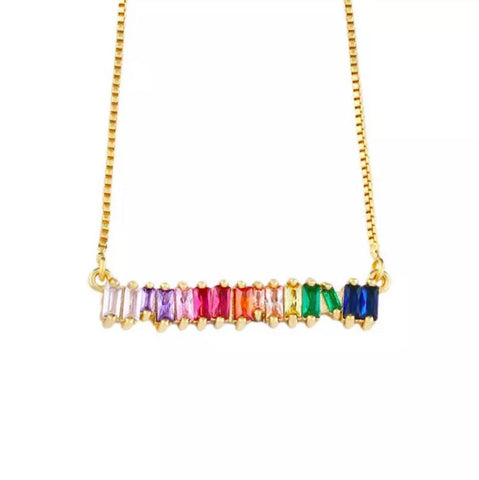 Rainbow N. Necklace