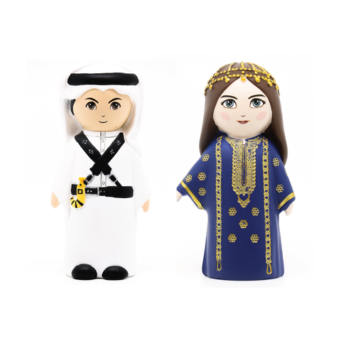 3D Najdi Figures Set