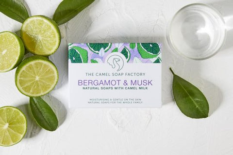 Bergamot & Musk Natural Bar Soap