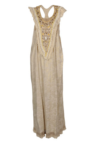 """Gypsy Dress Metallic"""