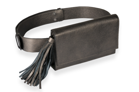 """Dark Brown Belt Bag"""