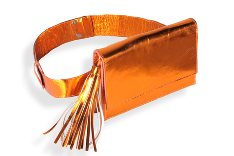 """Orange Belt Bag"""