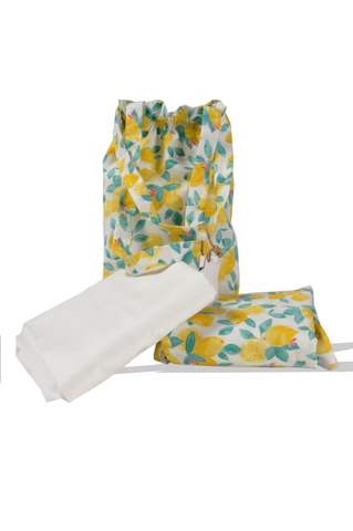 Lemon Prayer Set with Sharshaf for Girls