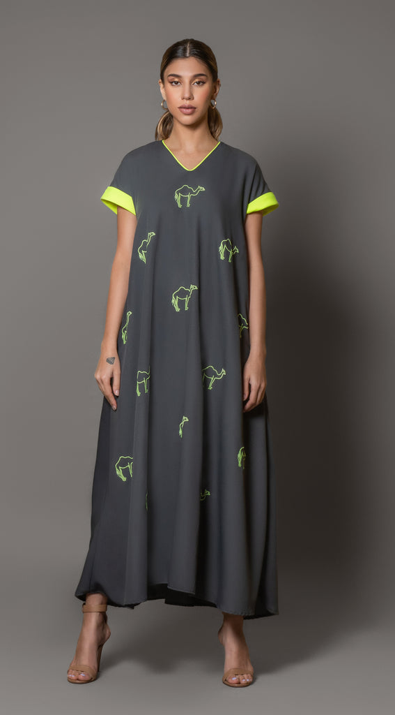 """Camel Farm Dress"""