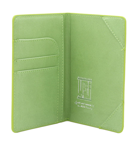 KSA Buildings Saudi Passport Cover T2 - Light Green