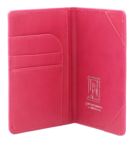 KSA Buildings Saudi Passport Cover T2 - Pink