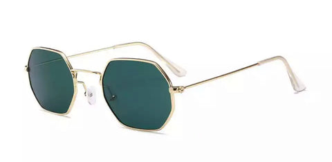Gold Green San Carlos Sunglasses