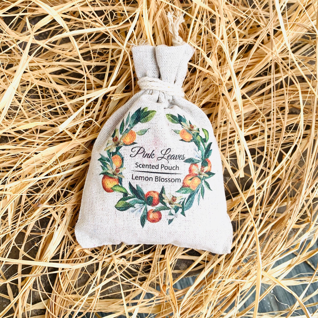 Lemon Blossom Scented Pouch