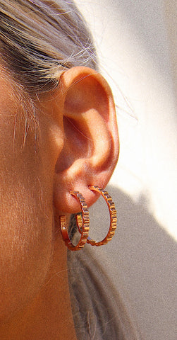 """Rad Hoops Earrings"""