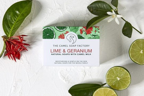 Lime & Geranium Natural Bar Soap