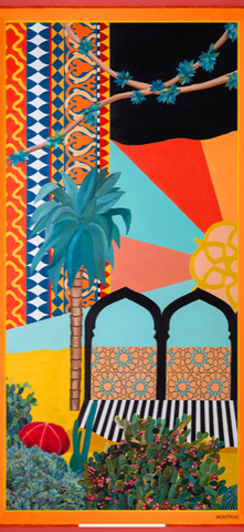 """MARRAKESH BEACH TOWEL"""