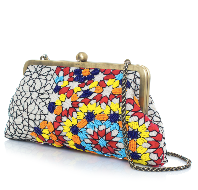 Arabesque Multicolored Classic Clutch