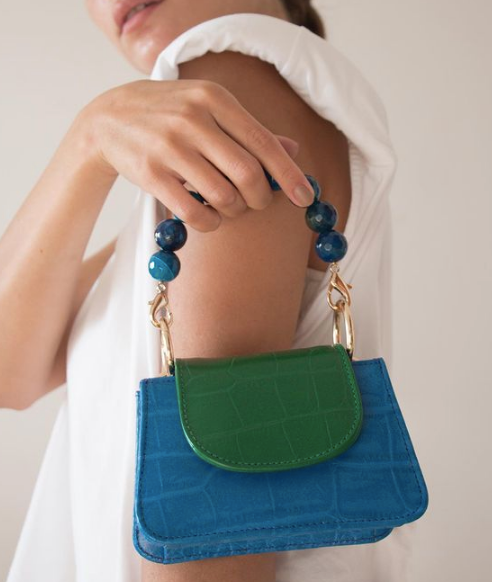 Green & Blue Horra Bag