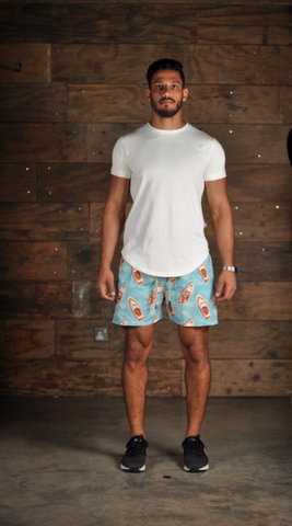 Velorum Blue Boats Swim Shorts