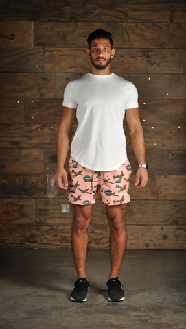 Velorum Pink Airplane Shorts
