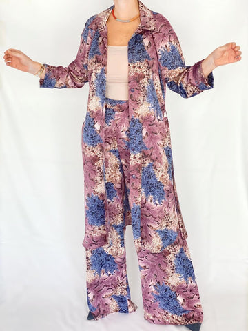 Floral Blazer & Pants Set