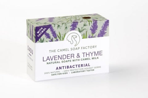 Lavender & Thyme Anti-bacterial Natural Bar Soap With Camel Milk.