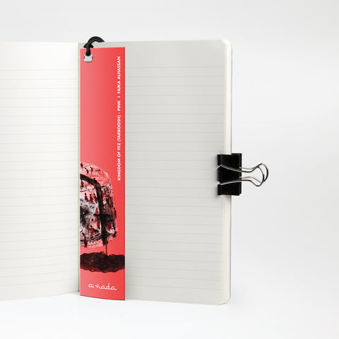 Kingdom of Fez (Tarboosh) Pink - Bookmark