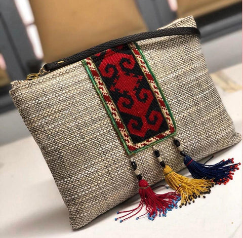 Embroidered Subha Bag
