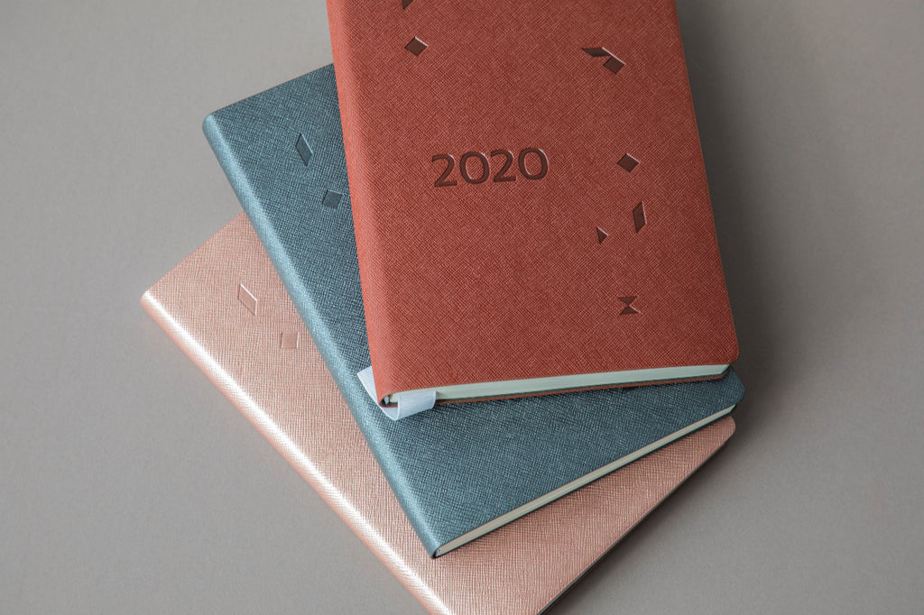 Blue 2020 Journal Planner