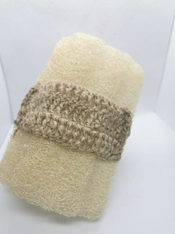 Natural Fiber with Crochet Handle