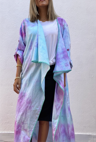 Tie dye Magic Cardigan
