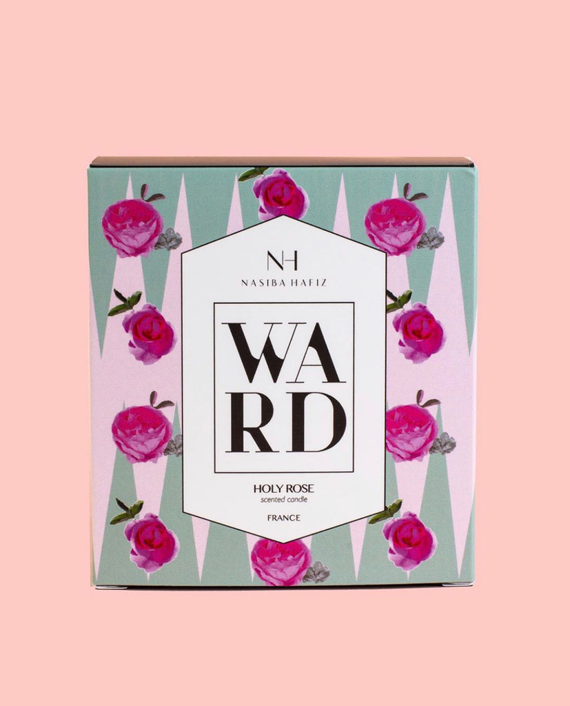 Ward Rose Candle