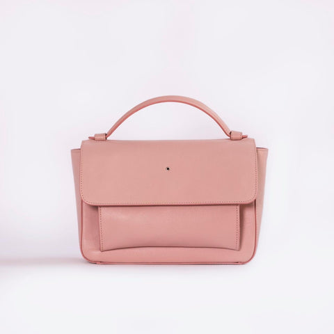 """Pink One Hole Handbag"""