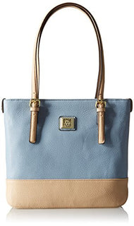 Anne Klein Perfect Tote Small Shopper, Ocean Blue-Natural