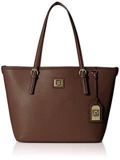 Anne Klein Perfect Tote Medium Tote, Chocolate