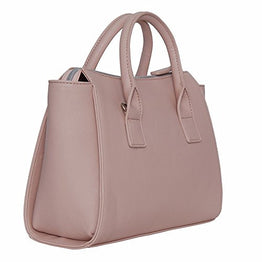 Kenneth Cole Reaction KN1550 Magnolia Handbag Top Handle Messenger Crossbody Shoulder Bag (Blush)