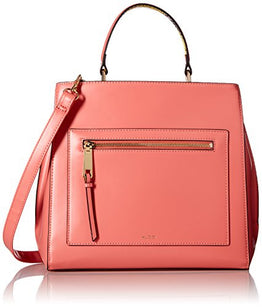 Aldo Gareni Top Handle Handbag,  Peach
