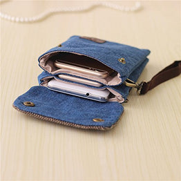 Small Crossbody Purse for Girls, Urmiss Fashion Lady Handbag Shoulder Bag Tote Purse Denim Jean Women Messenger Hobo Bag