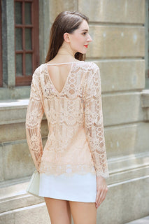 UP Ultrapink Women's Missy Lace Blouse