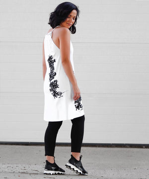 SCREEN PRINT TUNIC - Marie Hell
