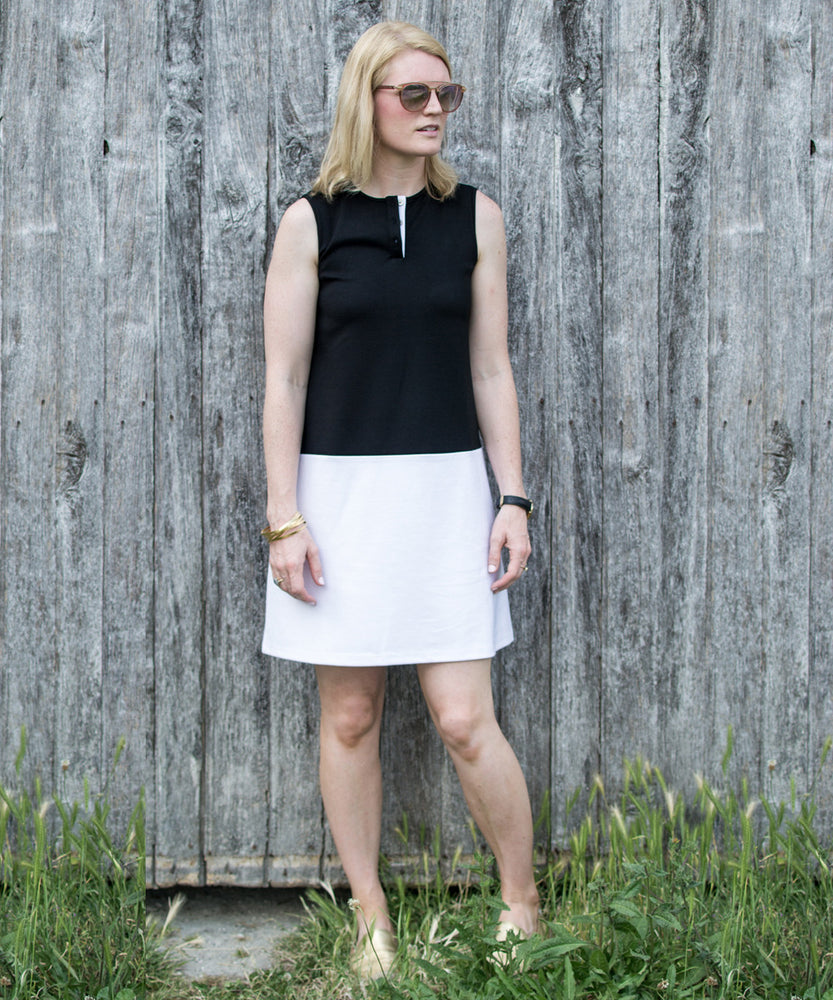 COLOR BLOCK DISCOVER DRESS