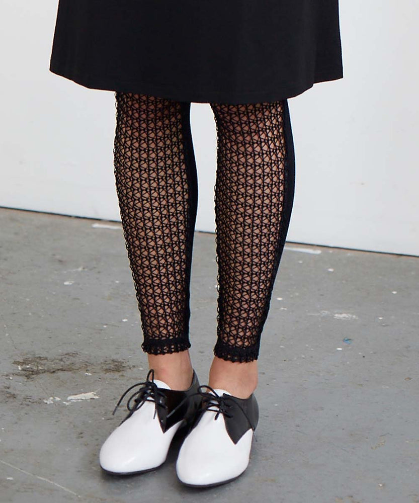 NETTED LEGGINGS