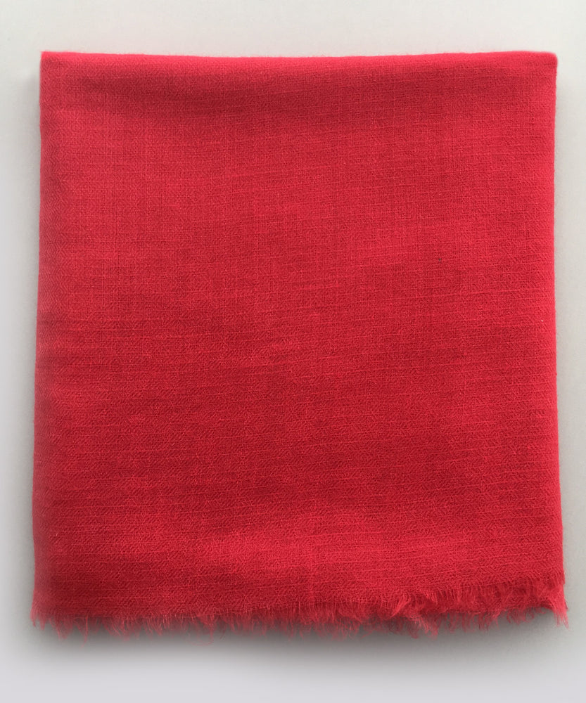 PASHMINA RED STOLE